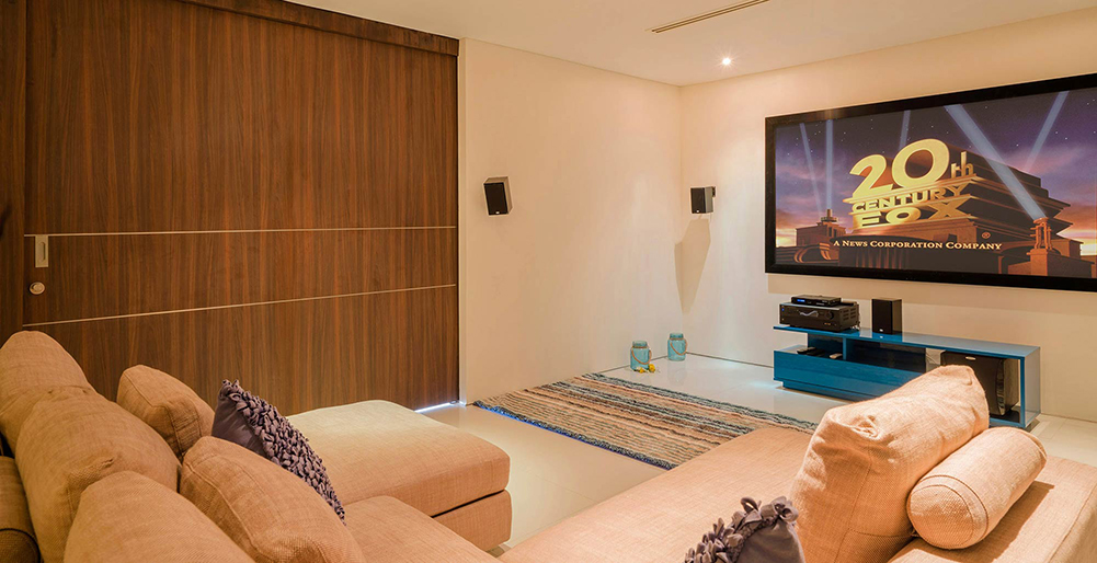 Villa Samira - Private movie room
